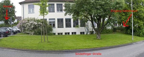 Hintereingang Fotoclub Leinfelden-Echterdingen